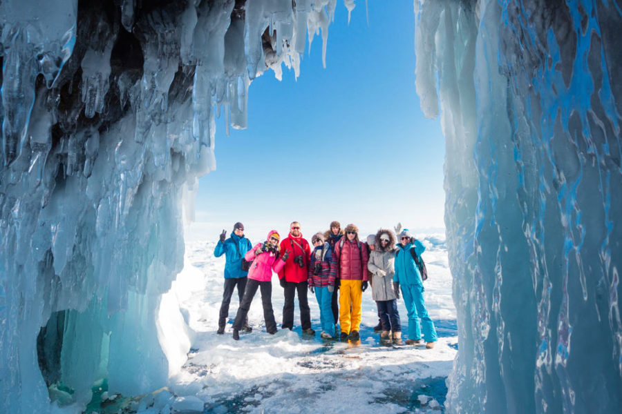 Lake Baikal Ice Winter tour Siberia