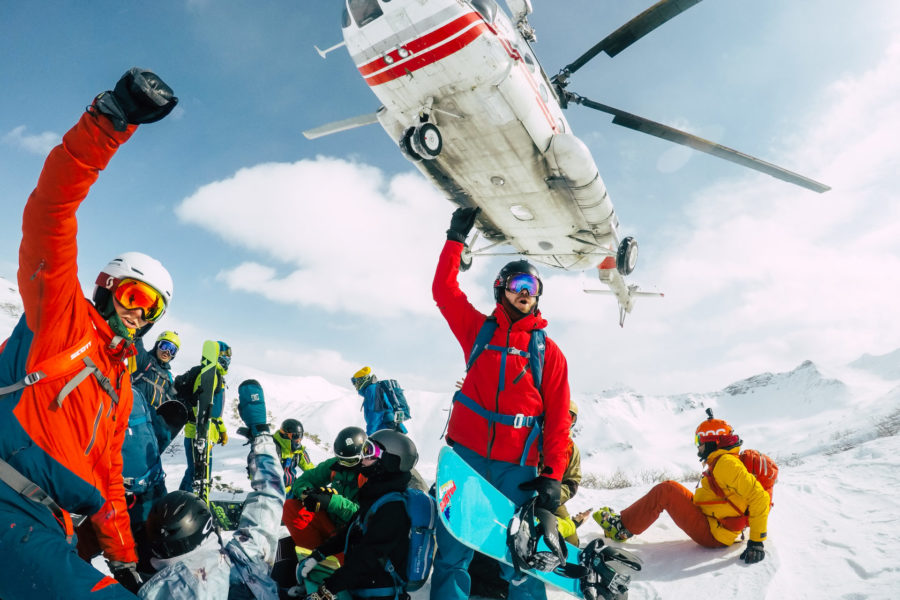 Kamchatka heli-ski Russia winter tour