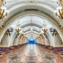 Russia tour Moscow metro