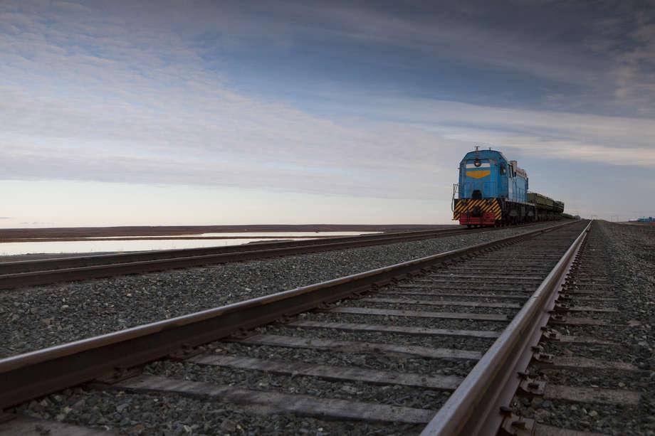 by train to Yamal