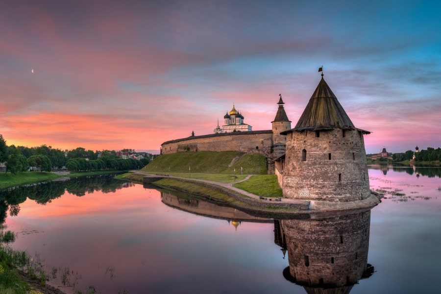 Pskov city tour Russia