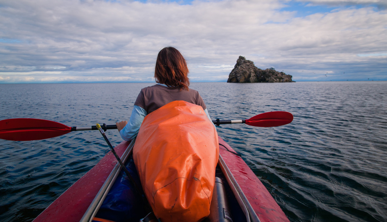 Kayaking Lake Baikal tour, Lake Baikal kayaking tour
