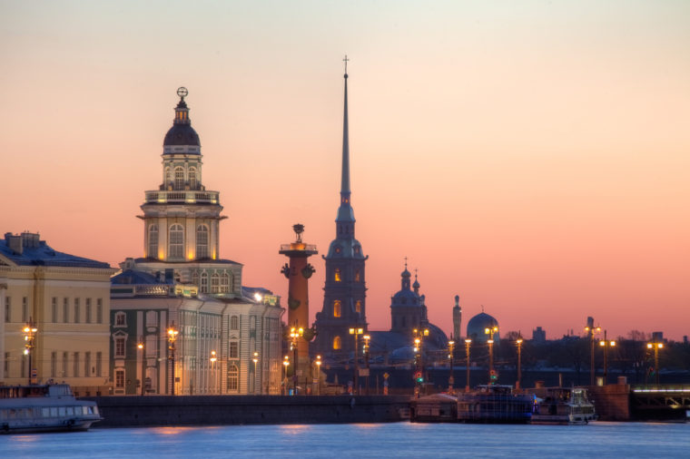 White nights St Petersburg tour