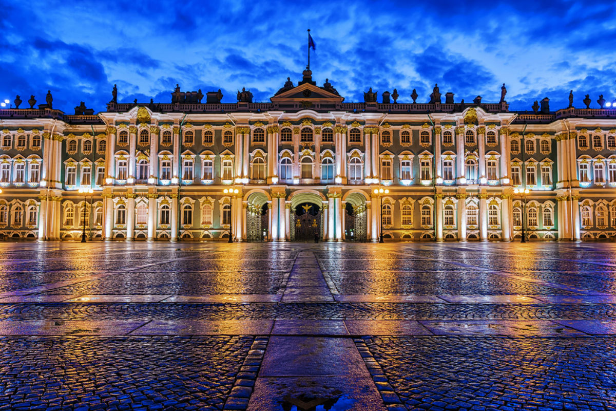 Treasures of st petersburg 56th parallel tours for Tour hermitage