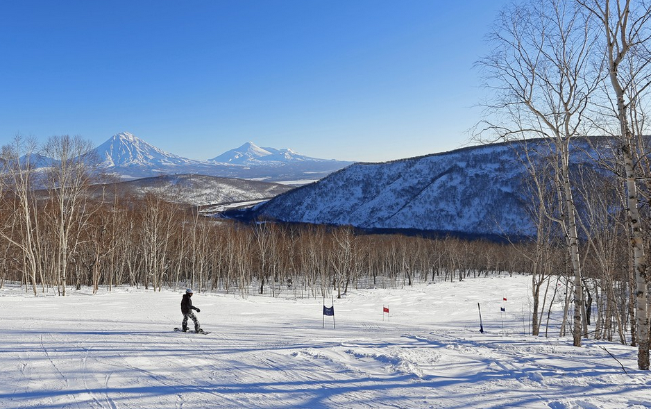 Kamchatka skiing tours