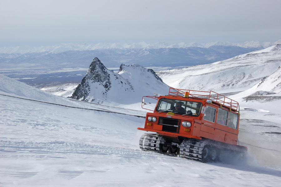 Kamchatka Russia winter tours