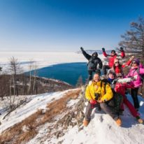Lake Baikal Ice Adventure Russia tour