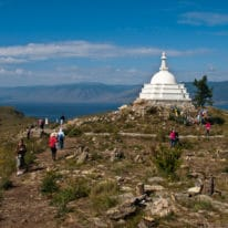 Ogoy Island Stupa, Legend of Lake Baikal, Lake Baikal Summer Tour