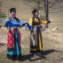 Buryat people Lake Baikal