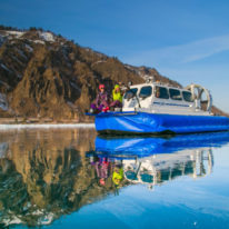 Lake Baikal ice Adventure