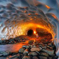 Ice Cave, Kamchatka photo expedition