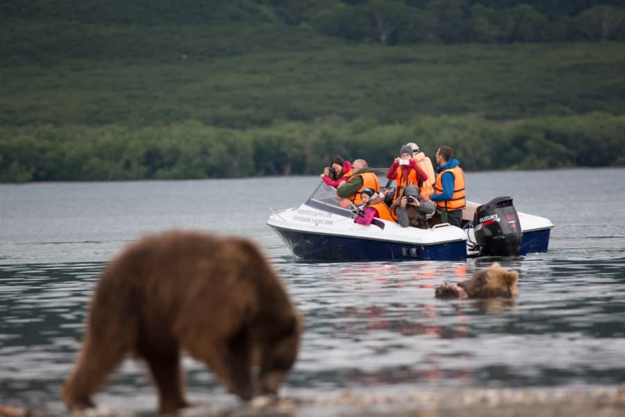 Kamchatka Kuril Lake bears watching tour Russia