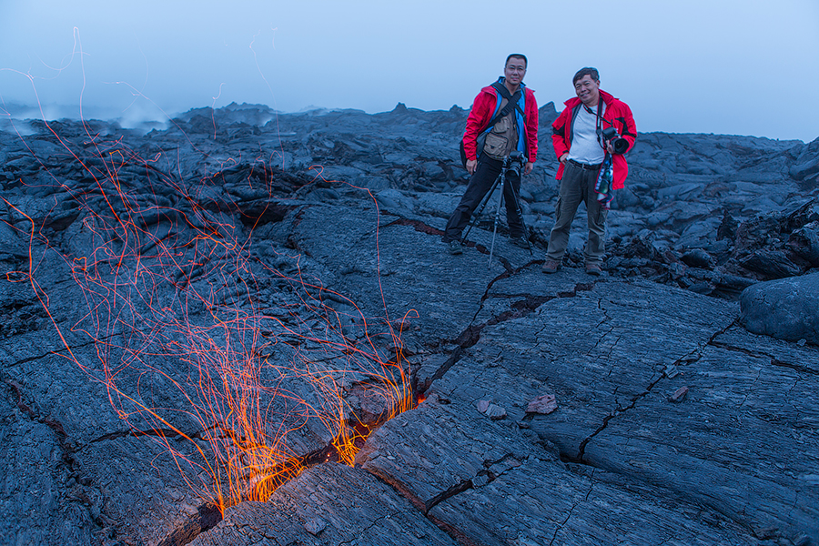 Kamchatka lava field photography