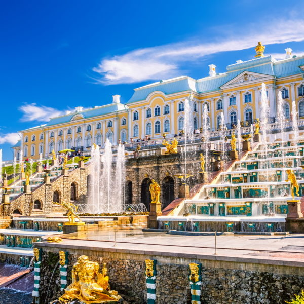 Peterhoff, Moscow to St Petersburg river cruise, Volga river cruise