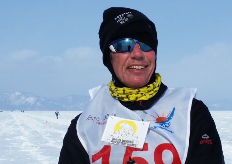 Baikal Ice Marathon 2016 Keith