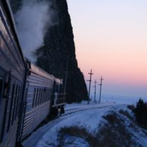 Northern Lights Train tour