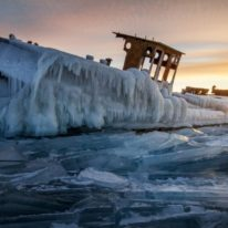 Lake Baikal ice photography