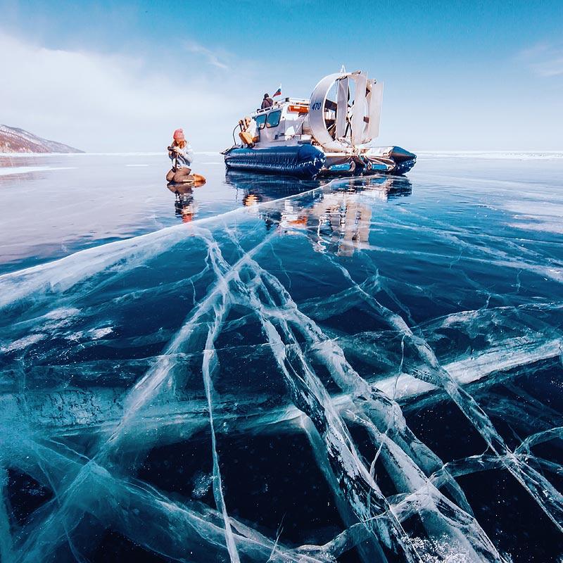Lake Baikal Ice Photo tour 7