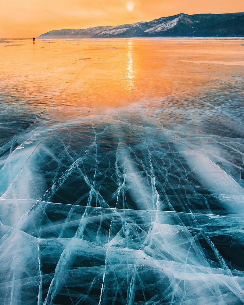 Lake Baikal sunset
