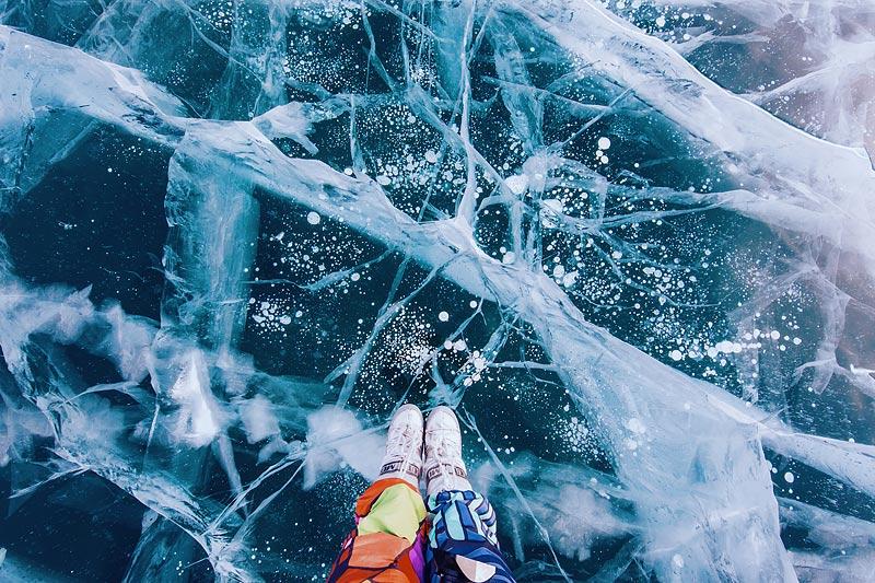 Lake Baikal ice photo tour 3