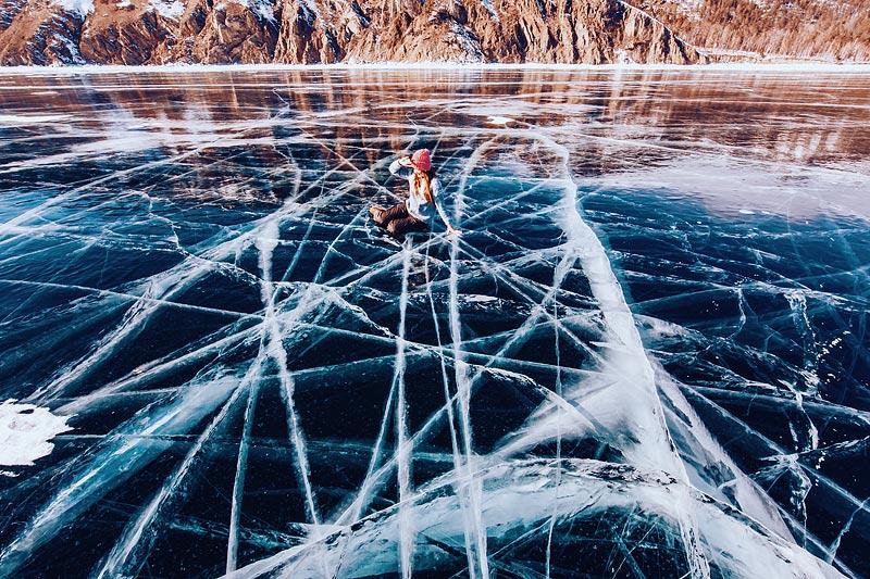 Lake Baikal ice photo tour 9