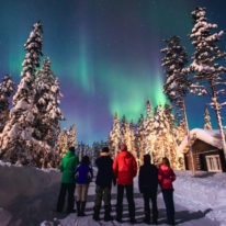 trip to see Northern lights in Russia, Murmansk northern lights tour