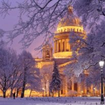 Winter tour Russia Moscow St Petersburg New Years Christams