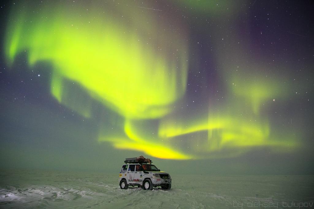 Northern lights in Murmansk