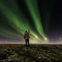 Northern Lights Murmansk tour Russia Kola Peninsula