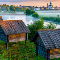 Suzdal wooden architecture