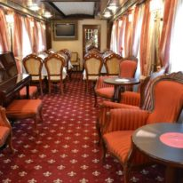 Imperial Russia train, Russia tour