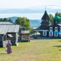 Taltsy Lake Baikal tour