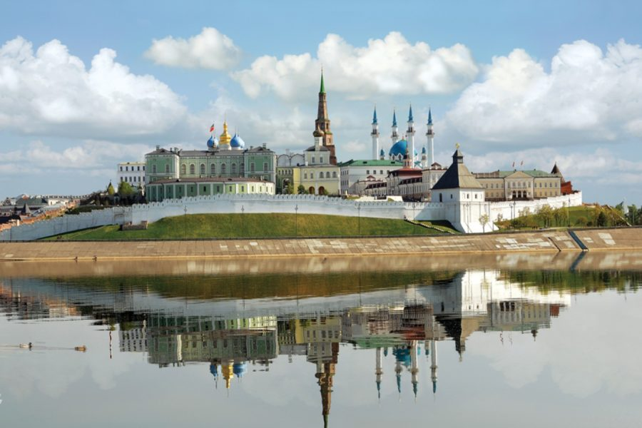 Lower volga river cruise