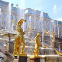 St Petersburg tour Russia Peterhof