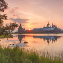 Solovetsky Islands sunset