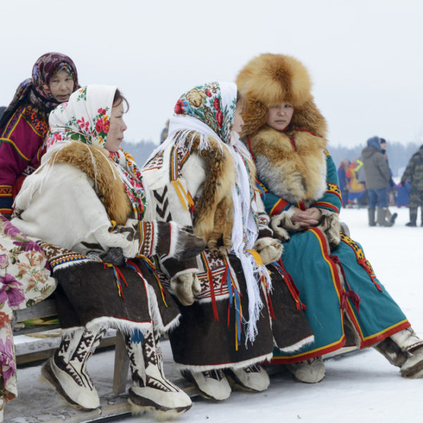 Nenet women in Yamal