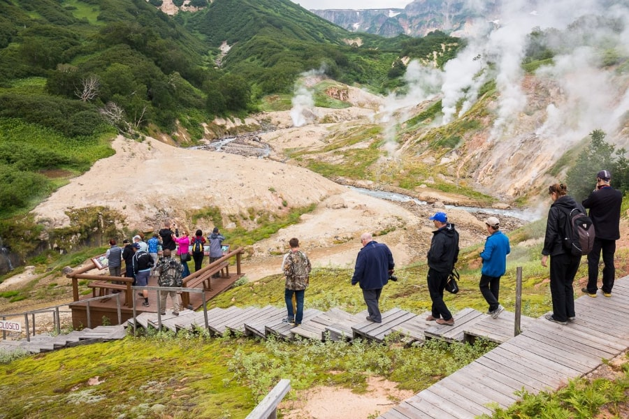 Kamchatka tour Russia valley of geysers