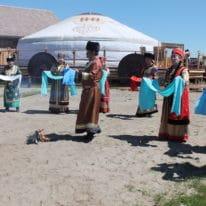 Lake Baikal buryat people tour, Russia