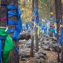 Lake Baikal buryat shamanistic forest, Russia tour