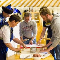 Lake Baikal cooking master class with buryat people, Russia tour