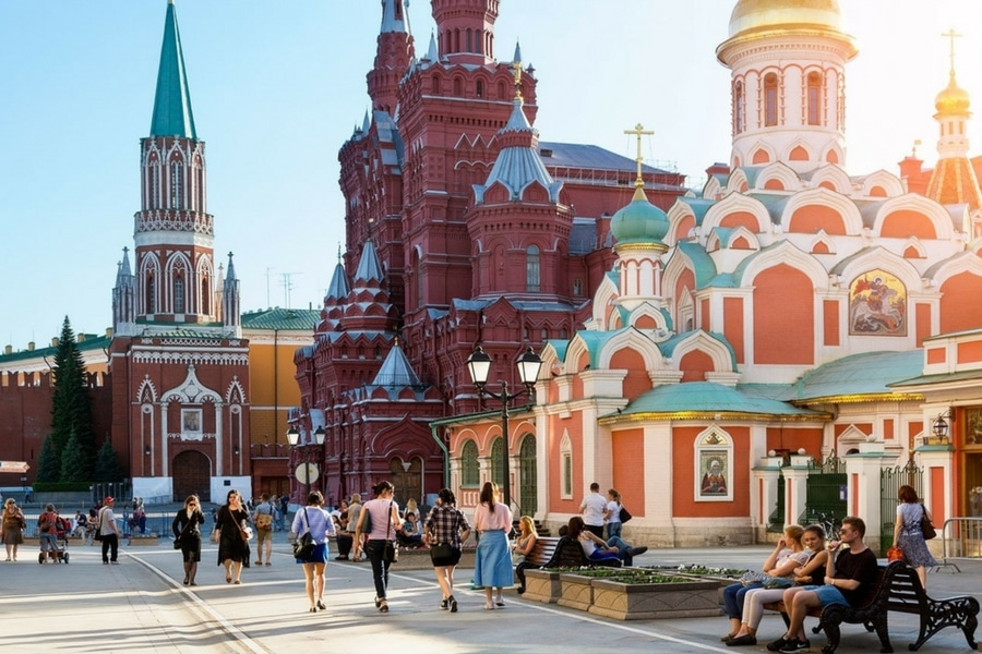 Red Square in Moscow, Russia tour