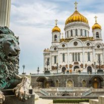 Cathedral of Christ the Saviour in Moscow, Russia tour