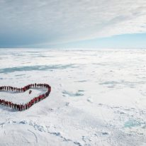 Love heart with north pole cruise, Russia tour