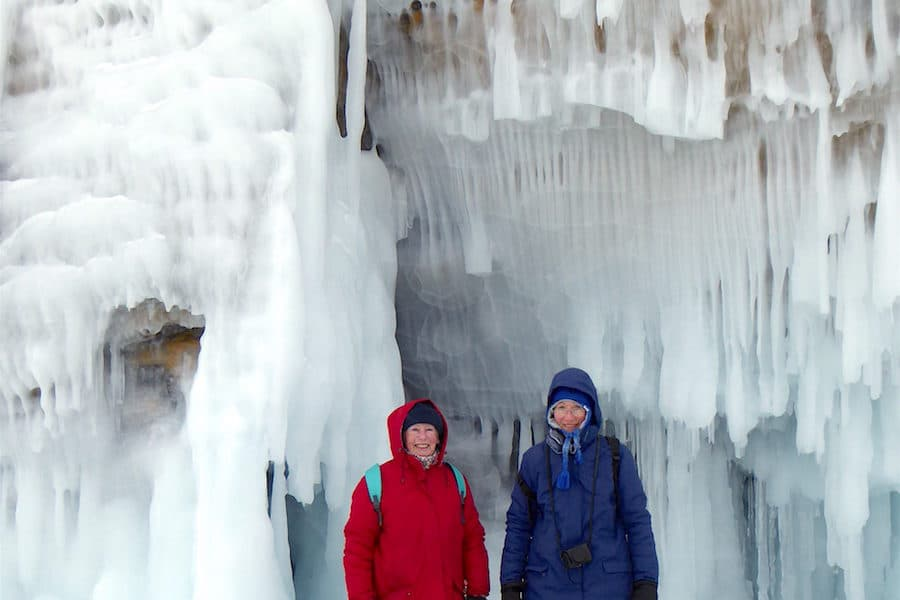 Lake Baikal winter tour