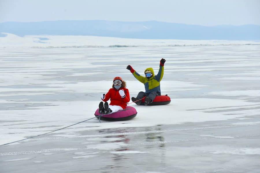 Lake Baikal winter tour