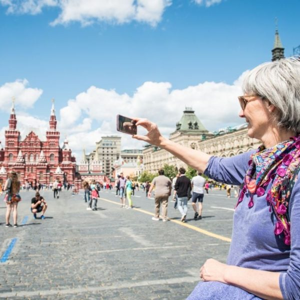 Moscow tour Red Square Russia