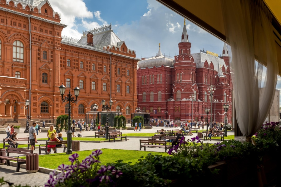 Russia tours Moscow