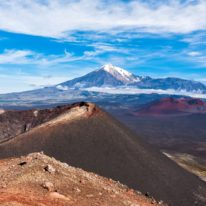 Kamchatka trekking tour Russia bears and volcanoes