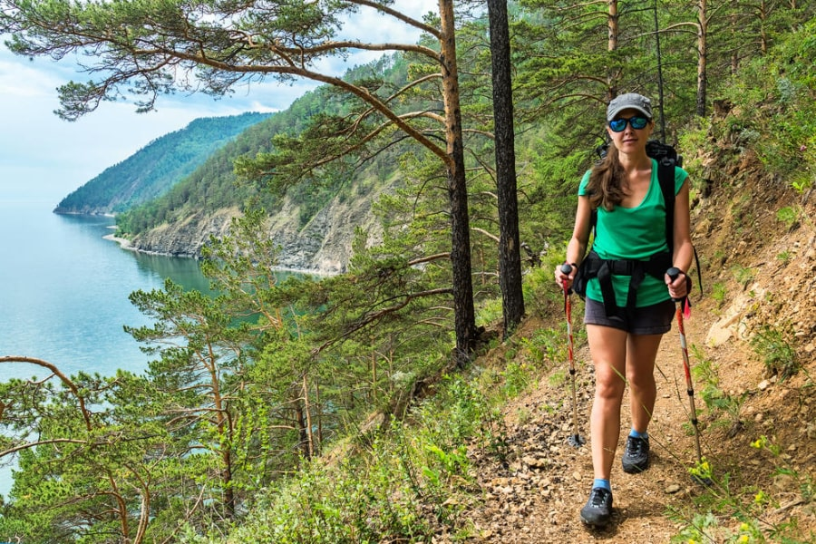 Lake-Baikal-trail-hiking-tour Russia
