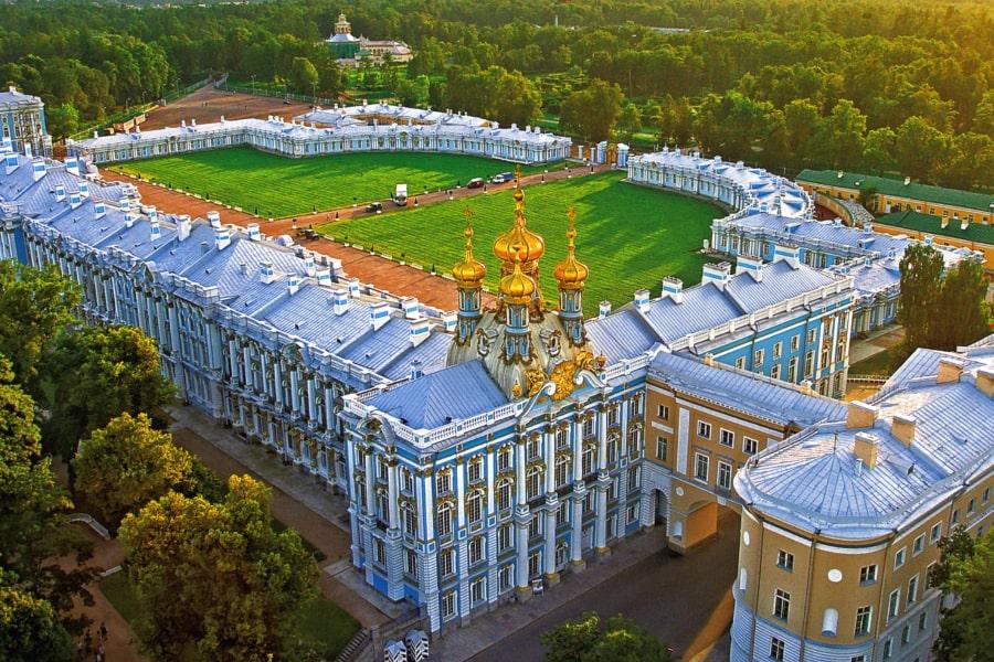 St Petersburg tour Russia Tsarskoye Selo